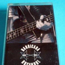 Cassettes Anciennes: CASETE :BARRICADA. ROCANROL. ORIGINAL. AÑO 1987. Lote 225612548