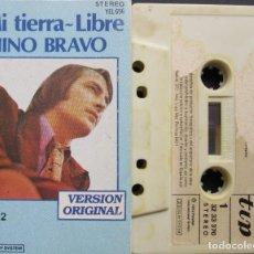 Casetes antiguos: NINO BRAVO - MI TIERRA - LIBRE - VOL. 2. Lote 225866927