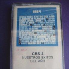 Casetes antiguos: EXITOS CBS 4 - CASETE PRECINTADA - LEONARD COHEN - LAS GRECAS - ROBERTO CARLOS - VICENTE FERNANDEZ -. Lote 226286140