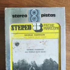 Cassettes Anciennes: GEORGE HARRISON - ALL THINGS MUST PASS ********* CARTUCHO SUPER 8 FRANCIA ORIGINAL. Lote 226392562
