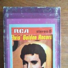 Cassettes Anciennes: ELVIS PRESLEY - ELVIS' GOLDEN RECORDS ********* CARTUCHO SUPER 8 RCA ESPAÑOL ORIGINAL. Lote 226392760