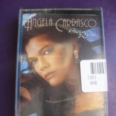 Cassettes Anciennes: ANGELA CARRASCO - BOCA ROSA - CASETE EMI 1988 PRECINTADA - MELODICA LATINA 70'S 80'S - CAMILO SESTO. Lote 226460250