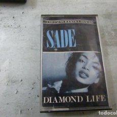 Cassetes antigas: SADE - DIAMOND LIFE - CASETE - N. Lote 272573653