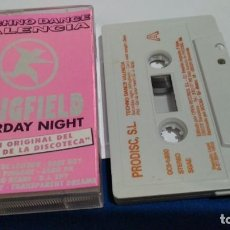 Casetes antiguos: CASETE CINTA CASSETTE ( TECHNO DANCE VALENCIA - WHIGFIELD SATURDAY NIGHT ) 1993 PRODISCO - DISCOTECA. Lote 227104870