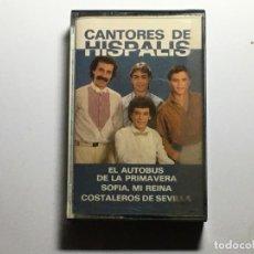 Casetes antiguos: CASETE CANTORES DE HISPALIS. Lote 230087665