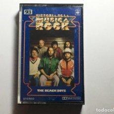 Casetes antiguos: CASETE HISTORIA DE LA MUSICA ROCK - THE BEACH BOYS. Lote 230089650