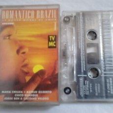 Casetes antiguos: ROMÁNTICO BRAZIL I. 24 BOSSA NOVAS DE AMOR. ARCADE, 1994. Lote 54796067