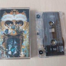 Cassettes Anciennes: MICHAEL JACKSON - DANGEROUS-- CASETE -. Lote 232703263