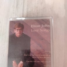 "Casetes antiguos: ELTON JHON. CASETTE "" LOVE SONG "". ROCKET MERCURY. 1995.. Lote 233235260"