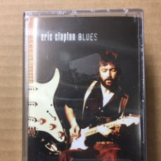 Cassette antiche: 2X CASSETTE - ERIC CLAPTON - BLUES - PRECINTADO DE FÁBRICA- SEALED OF FACTORY! NUEVO!! NEW!!. Lote 233433000