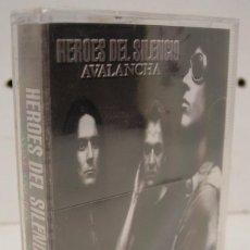 Casetes antiguos: HEROES DEL SILENCIO - AVALANCHA - CASETE CASSETTE NUEVO PRECINTADO. Lote 269437453