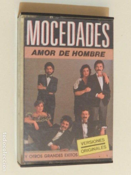 K7 MOCEDADES AMOR DE HOMBRE Y OTROS GRANDES ÉXITOS VERSIONES ORIGINALES CASSETTE (Música - Casetes)
