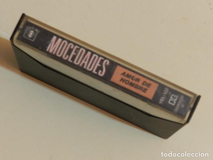 Casetes antiguos: K7 Mocedades Amor de hombre y otros grandes éxitos VERSIONES ORIGINALES cassette - Foto 2 - 233733790