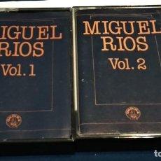 Casetes antiguos: CASETE DOBLE CINTA CASSETTE ROCK (MIGUEL RIOS - CONCIERTOS DE ROCK Y SUS EXITOS ) 1982 ONDINA. Lote 233768700