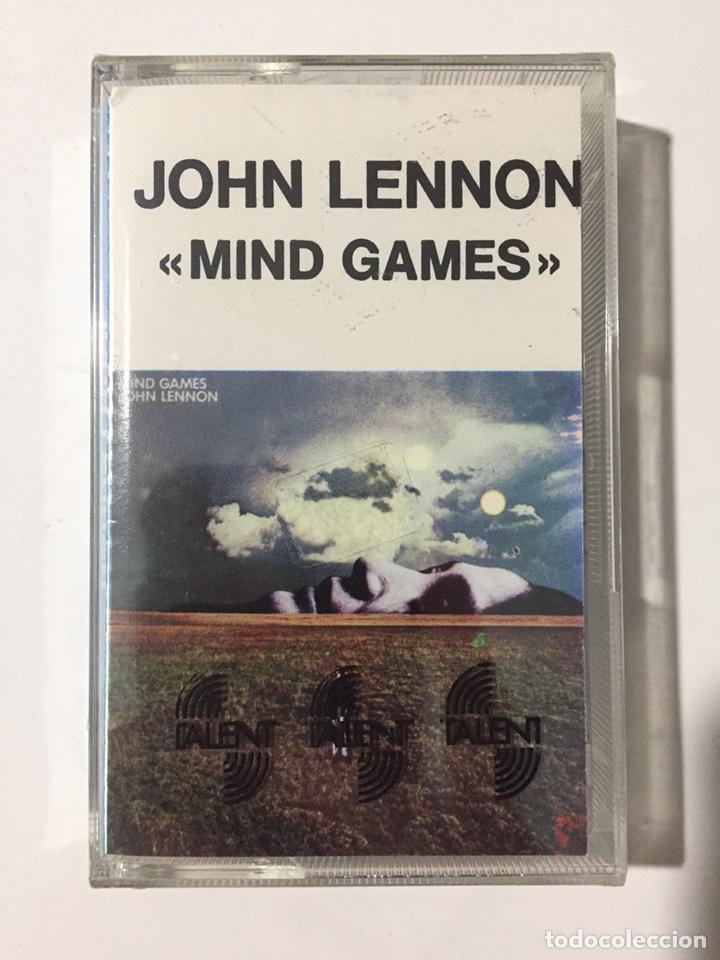CASSETTE JOHN LENNON - MIND GAMES - PRECINTADO DE FÁBRICA!! SEALED OF FACTORY!! NUEVO!! (Música - Casetes)