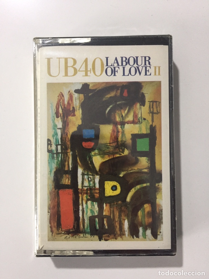 CASSETTE UB40 - LABOUR OF LOVE II - PRECINTADO DE FÁBRICA!! SEALED OF FACTORY!! NUEVO! NEW! (Música - Casetes)