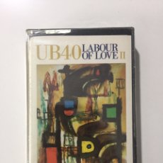 Cassette antiche: CASSETTE UB40 - LABOUR OF LOVE II - PRECINTADO DE FÁBRICA!! SEALED OF FACTORY!! NUEVO! NEW!. Lote 234819170