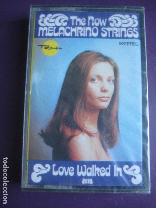 THE NOW MELACHRINO STRINGS - CASETE TRAMA PRECINTADA - LOVE WALKED IN - EASY LISTENING 70'S LOUNGE (Música - Casetes)