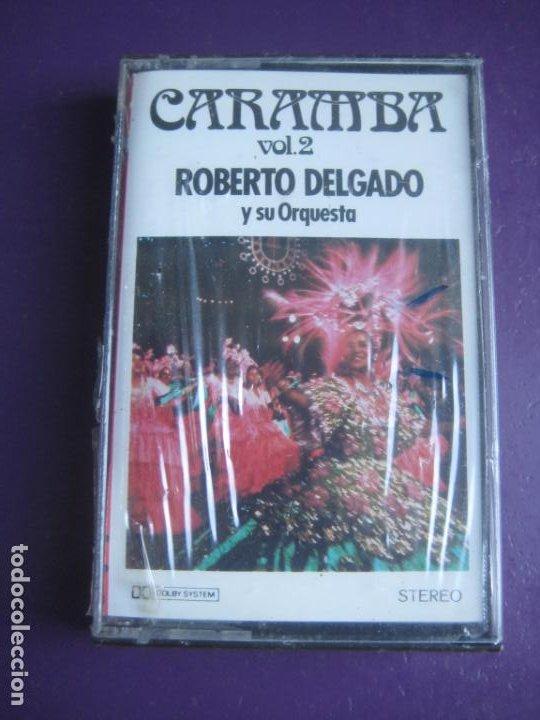 CARAMBA - ROBERTO DELGADO Y SU ORQUESTA - CASETE POLYDOR PRECINTADA - EASY LISTENING - LATIN LOUNGE (Música - Casetes)