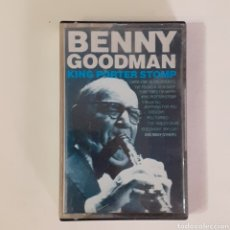 Casetes antiguos: BENNY GOODMAN. KING PORTER STOMP. 5005 SER. PORTUGAL 1986.. Lote 235092740