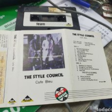 Casetes antiguos: THE STYLE COUNCIL CASETE CAFÉ BLEU 1984. Lote 235092805