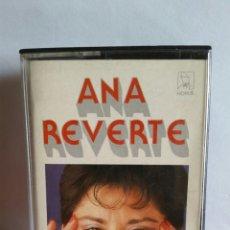 "Casetes antiguos: CASETTE DE ANA REVERTE / "" COLOMBIANAS DE ORO "" / EDIT. POR HORUS - 1987. Lote 235271735"