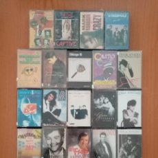 Cassette antiche: LOTE 24 CASETS - VARIOS ARTISTAS. Lote 235299330