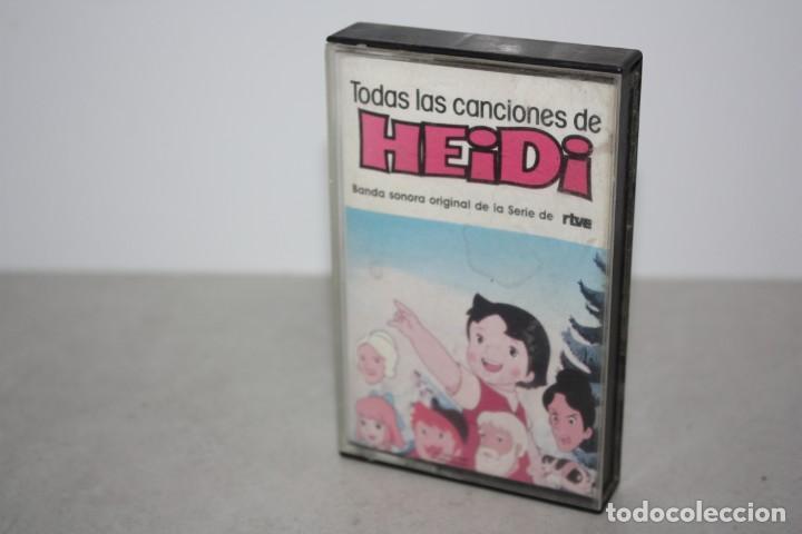 TODAS LAS CANCIONES DE HEIDI. 1982 (Música - Casetes)