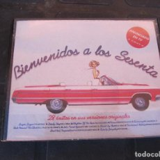 Casetes antiguos: BIENVENIDOS A LOS SESENTA DOBLE CASETTE. Lote 235611065