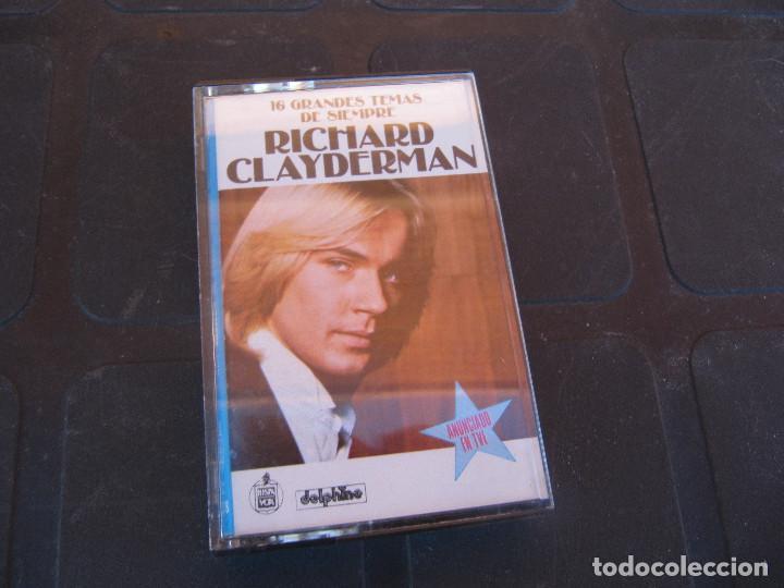 RICHARD CLAYDERMAN - 16 GRANDES TEMAS DE SIEMPRE (Música - Casetes)