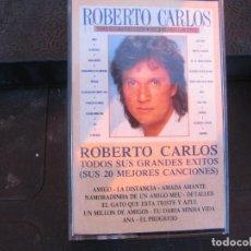 Casetes antiguos: ROBERTO CARLOS - TODOS SUS GRANDES ÉXITOS VOL 1. Lote 235612245