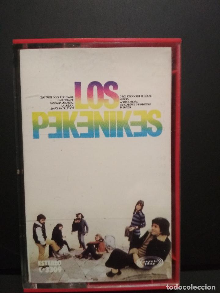 Casetes antiguos: LOS PEKENIKES LOS PEKENIKES CASSETTE SPAIN 1975 PDELUXE - Foto 3 - 235796620