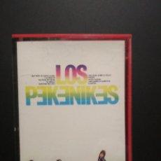 Casetes antiguos: LOS PEKENIKES LOS PEKENIKES CASSETTE SPAIN 1975 PDELUXE. Lote 235796620