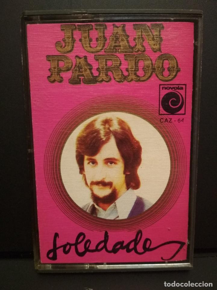 JUAN PARDO SOLEDADES CASSETTE SPAIN 1972 PDELUXE (Música - Casetes)