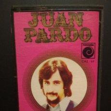 Casetes antiguos: JUAN PARDO SOLEDADES CASSETTE SPAIN 1972 PDELUXE. Lote 235798510
