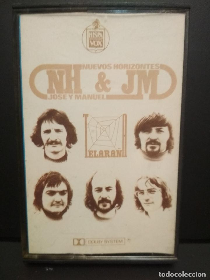 NUEVOS HORIZONTES & JOSE Y MANUEL TELARAÑA CASSETTE SPAIN 1975 PDELUXE (Música - Casetes)