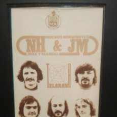 Cassettes Anciennes: NUEVOS HORIZONTES & JOSE Y MANUEL TELARAÑA CASSETTE SPAIN 1975 PDELUXE. Lote 235799400