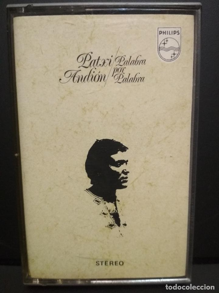 PATXI ANDION PALABRA POR PALABRA CASSETTE SPAIN 1972 PDELUXE (Música - Casetes)