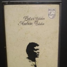 Casetes antiguos: PATXI ANDION PALABRA POR PALABRA CASSETTE SPAIN 1972 PDELUXE. Lote 235799825