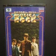 Casetes antiguos: SMALL FACES HISTORIA DE LA MUSICA ROCK CASSETE SPAIN 1982 PDELUXE. Lote 235800375