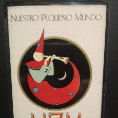 Casetes antiguos: NUESTRO PEQUEÑO MUNDO NPM CASSETTE SPAIN 1982 PDELUXE. Lote 235801095