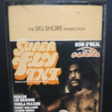 Casetes antiguos: OSIBISA SUPERFLY T.N.T. CASSETTE SPAIN 1973 PDELUXE. Lote 235802775
