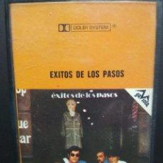 Casetes antiguos: LOS PASOS EXITOS DE LOS PASOS CASSETTE SPAIN 1973 PDELUXE. Lote 235803905
