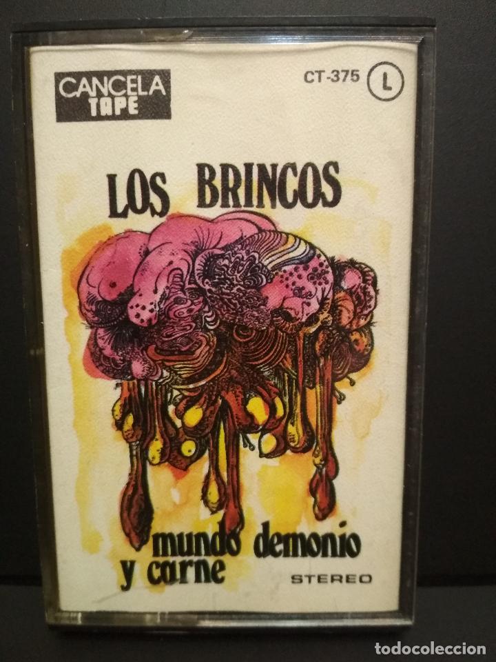 LOS BRINCOS MUNDO, DEMONIO Y CARNE CASSETTE SPAIN 1976 PDELUXE (Música - Casetes)