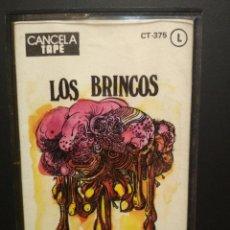 Casetes antiguos: LOS BRINCOS MUNDO, DEMONIO Y CARNE CASSETTE SPAIN 1976 PDELUXE. Lote 235805670