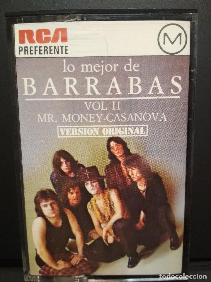 Casetes antiguos: BARRABAS LO MEJOR DE BARRABAS VOL. II CASSETTE SPAIN 1977 PDELUXE - Foto 3 - 235806080