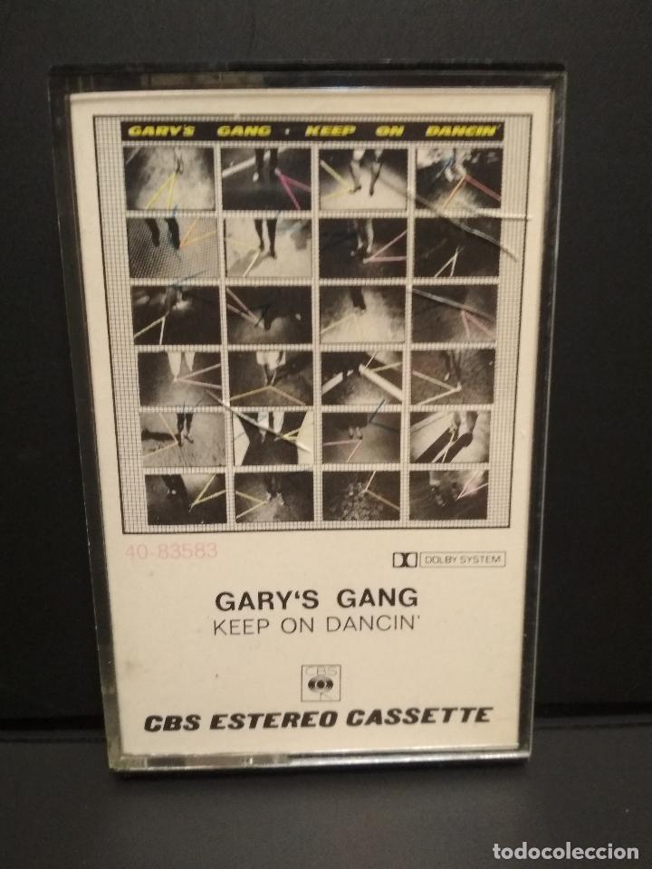 GARY'S GANG KEEP ON DANCING CASSETTE SPAIN 1979 PDELUXE (Música - Casetes)