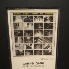 Casetes antiguos: GARY'S GANG KEEP ON DANCING CASSETTE SPAIN 1979 PDELUXE. Lote 235807800