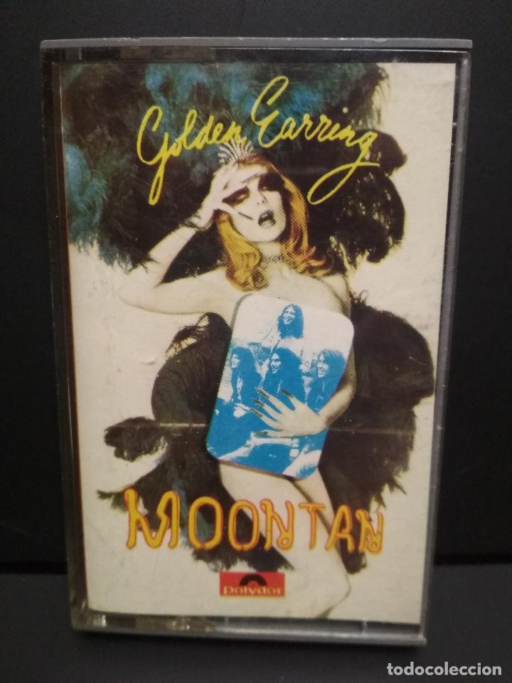 GOLDEN EARRING MOONTAN CASSETTE SPAIN 1974 PDELUXE (Música - Casetes)