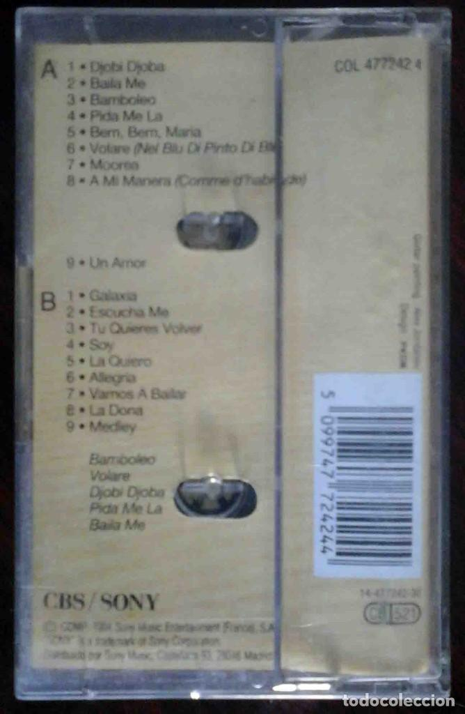 Casetes antiguos: Gipsy Kings - Greatest Hits - Foto 2 - 235831130
